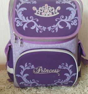 Вместительный фиолетовый рюкзак Princess