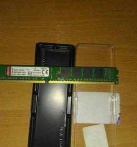 Оперативная память Kingston 4gb ddr3 1333Mhz