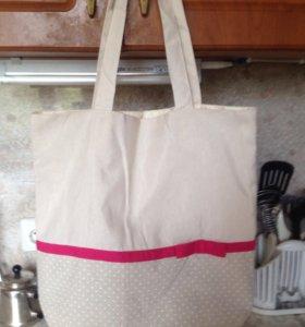 Тряпочная сумка