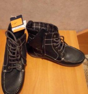 Ботинки для мальчиков фирмы ZARA boys. Новые.