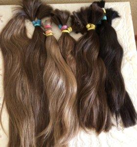 Детские волосы, срезы волос