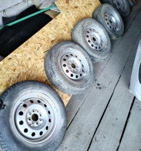Летние колеса и шины