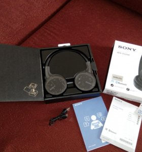 Беспроводные наушники Sony MDR-ZX220BR