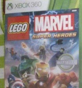 Игра LEGO marvel  для Xbox 360 лицензионная