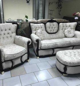 Комплект мягкой мебели (светильник в подарок)