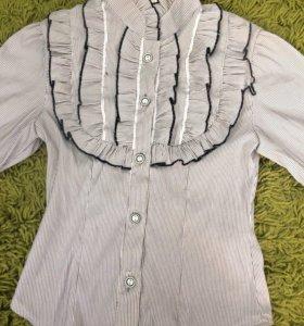 Рубашка для девочки ( в школу)