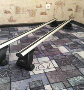 Багажная система рейлинги Lux на авто Мазда 6