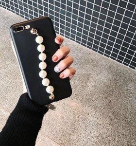 Чехол на iPhone 7/8 силикон . Отличное качества