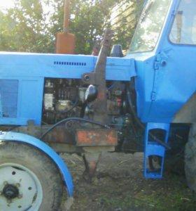 Трактор МТЗ-80 с куном