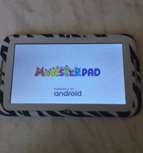 Планшет детский (monsterpad)