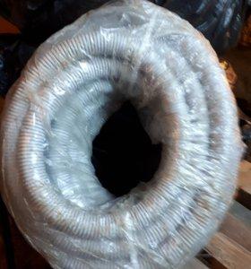 Труба гофрированная пвх D40 c зондом (15м.)