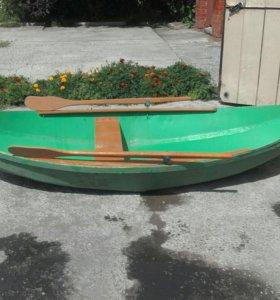 Лодка дюралевая,самоделка...