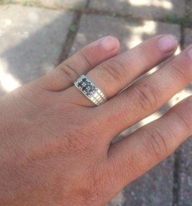 Мужское Кольцо серебро925