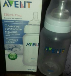 Детская бутылка AVENT