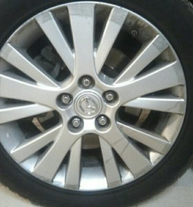 Литые диски R 17 Mazda 6 .3