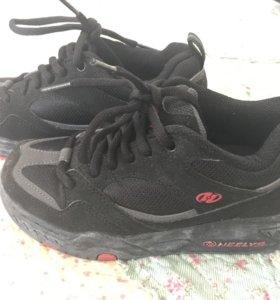 Heelys роликовые кроссовки, 21 см по стельке.