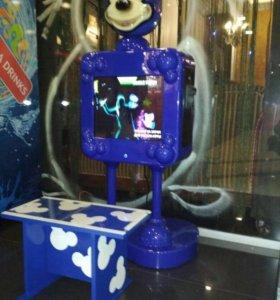 Детский интерактивный игровой автомат.