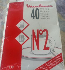 Фильтр пакеты для кофе MOULINEX