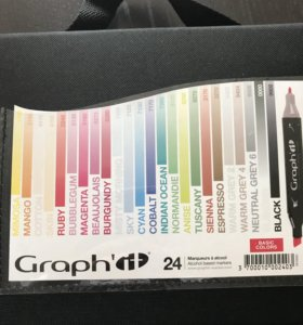 Маркеры graph it ( набор 24 шт)