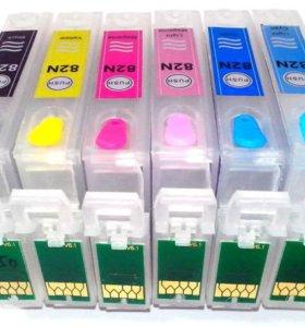 Перезаправляемые картриджи (ПЗК) для Epson