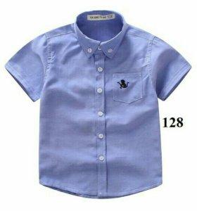 Рубашка новая для школы,130