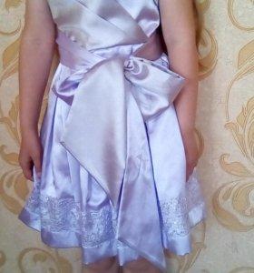 Платье нарядное на девочку от 4 лет