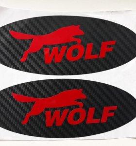 Наклейка Wolf для автомобиля Ford