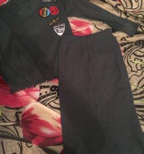 Комплект: кофта и юбка