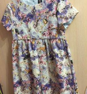 Платья для девочки рост128