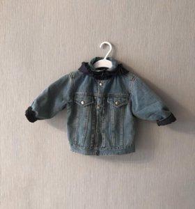 Двусторонняя куртка trussardi baby