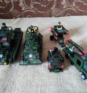 Лего танки