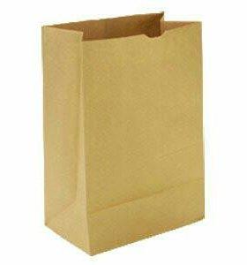 Бумажные пакеты крафт
