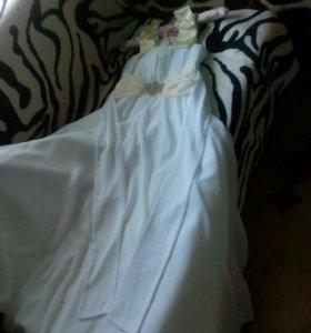 Платье вечернее,можно свадебное