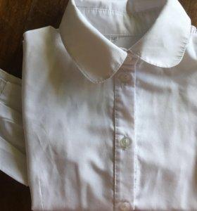 Школьная блуза рубашка 140