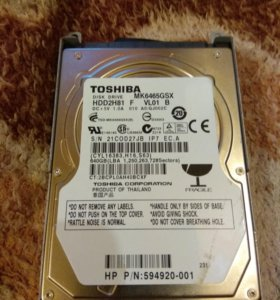 Жёсткий диск Toshiba 640Gb