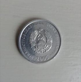 Монета Приднестровье 10 копеек