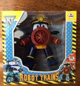 Роботы поезда Robot Trains паровозики