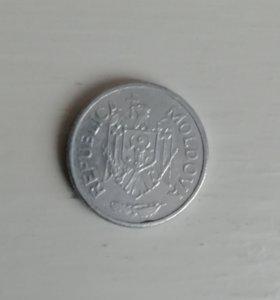 Монета Молдова 5 бани