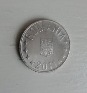 Монета Румыния 10 бани