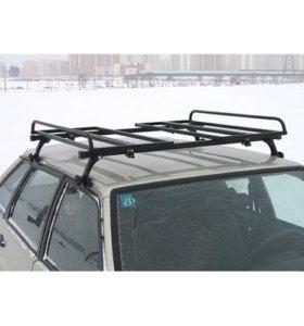 Багажник (корзина с бортами) на авто универсальный