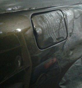 Услуги по покраске автомобиля и полировке