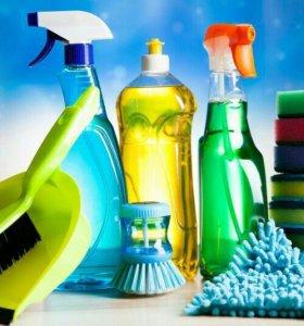 Уборка и мытье окон
