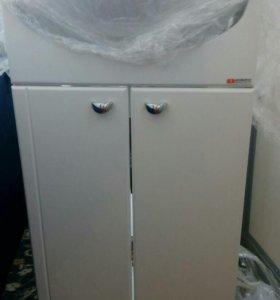 Раковина - комплект мебели Меркана Уют 45 белый