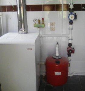 Отопление и водоснабжение.