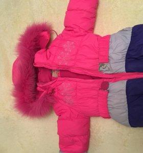 Зимний костюм тройка для девочки