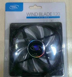 Корпусный вентилятор Deepcool Wind Blade 120