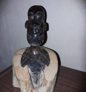 Сенегальский моряк. Эбеновое дерево. Ручная работа