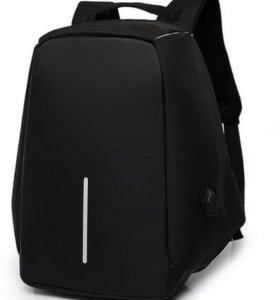 Рюкзак антивандальный Bobby (Черный цвет, Бобби)