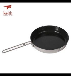 Keith титановая сковородка с антипригарным покрыт