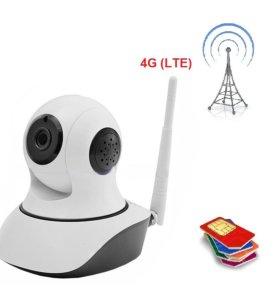 Поворотная 4G (LTE) камера Smart HD